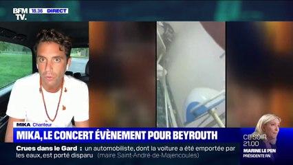"""Mika sur son concert """"I Love Beirut"""": """"Juste pour 1h40, on éteint la politique et on parle du côté humain"""""""
