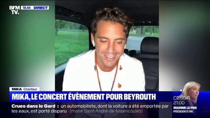 """Mika sur son concert """"I Love Beirut"""": """"c'est une sorte de lettre d'amour et de résilience, au Liban et pour ma mère"""""""
