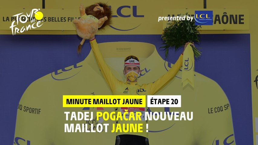 #TDF2020 - Étape 20 / Stage 20 - LCL Yellow Jersey Minute / Minute Maillot Jaune