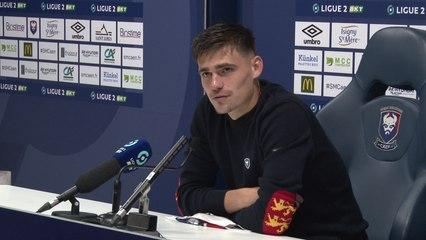J4 Ligue 2 BKT : Les réactions de P.Dupraz et J.Deminguet après SMCaen 0-0 FC Chambly