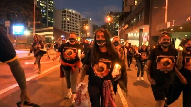 Black Lives Matter protest takes place in Brisbane