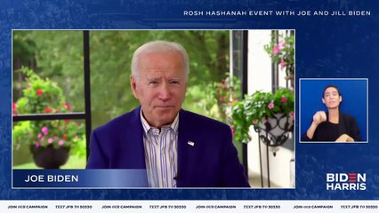Joe Biden - Happy Rosh Hashanah Joe Biden Wishes Jewish Americans A Happy New Year