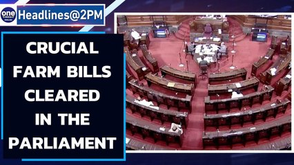 Farm bills passed in the Rajya Sabha: Opposition says Govt rushing through | Oneindia News