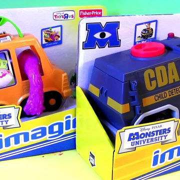 Monster CDA Van Captured Angry Birds Micro Drifters Cars by Disney Pixar Monsters University Toys