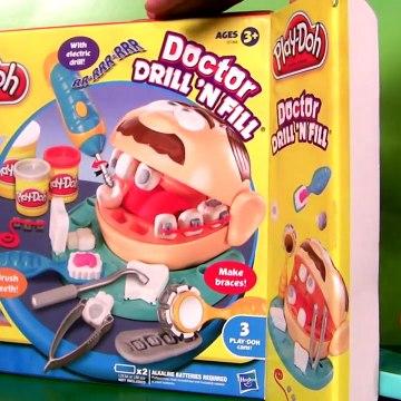 Play Doh Doctor Drill N Fill Playset Dentist Mater Disney Pixar Cars El Dentista Bromista Brincalhão