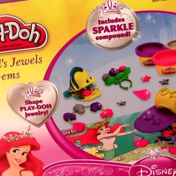 Play Doh Sparkle Ariel's Jewels & Gems from Disney The Little Mermaid Play Doh Glitter