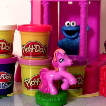 Play-Doh My Little Pony Twilight Sparkle MLP Pinkie Pie HOW to Make Play dough Plus Ponies