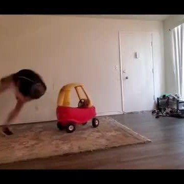 Guy Fails Several Times While Attempting Trick and Falls to the Ground