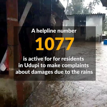 Heavy rains cause floods in Udupi, NDRF joins rescue operations