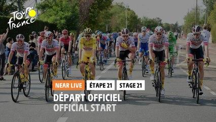 #TDF2020 - Étape 21 / Stage 21 - Départ officiel / Official start