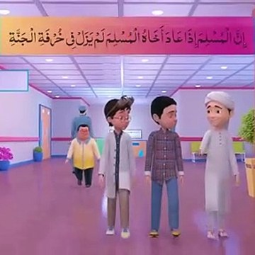 Ghulam Rasool in Hospital - Noman Ki Ayadat - Cartoon for Kids - Kids Land
