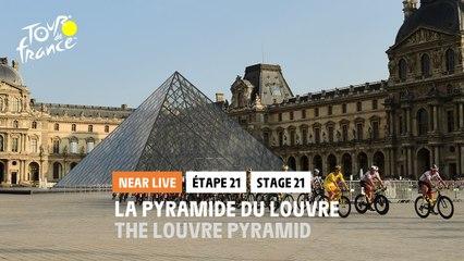 #TDF2020 - Étape 21 / Stage 21 - La pyramide du Louvres / The Louvre Pyramid