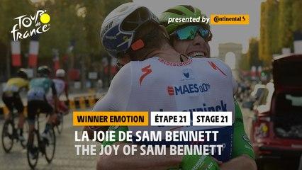 #TDF2020 - Étape 21 / Stage 21 - Winner's emotion