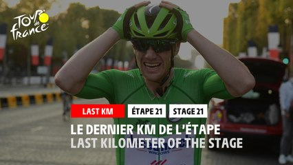 #TDF2020 - Étape 21 / Stage 21 - Flamme Rouge / Last Kilometer