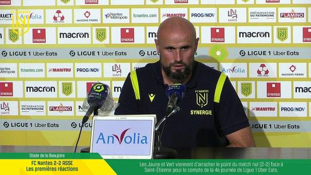 EN DIRECT I Les premières réactions après FC Nantes - Saint-Etienne (212)
