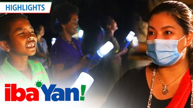 """Iba 'Yan team gives away a """"liter of light"""" to the Dumagat tribe 