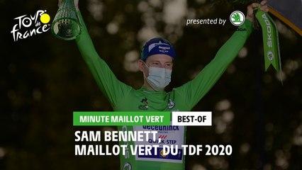 #TDF2020 - Best-Of - Škoda Green Jersey Minute / Minute Maillot Vert