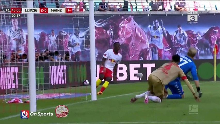 Highlights RB Leipzig - Mainz 05 - Miếng mồi ngon của thầy trò Nagelsmann - Vòng 1 Bundesliga 20-21