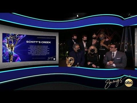 Schitt's Creek Cast Talk Historic Emmy Wins and How Their
