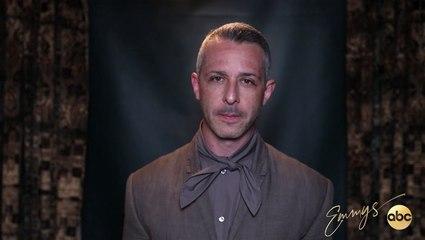 Jeremy Strong's Emmy Press Conference