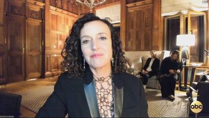 Maria Schrader's Emmy Press Conference