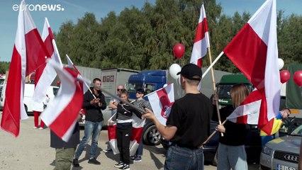Polonia solidaria con la oposición bielorrusa