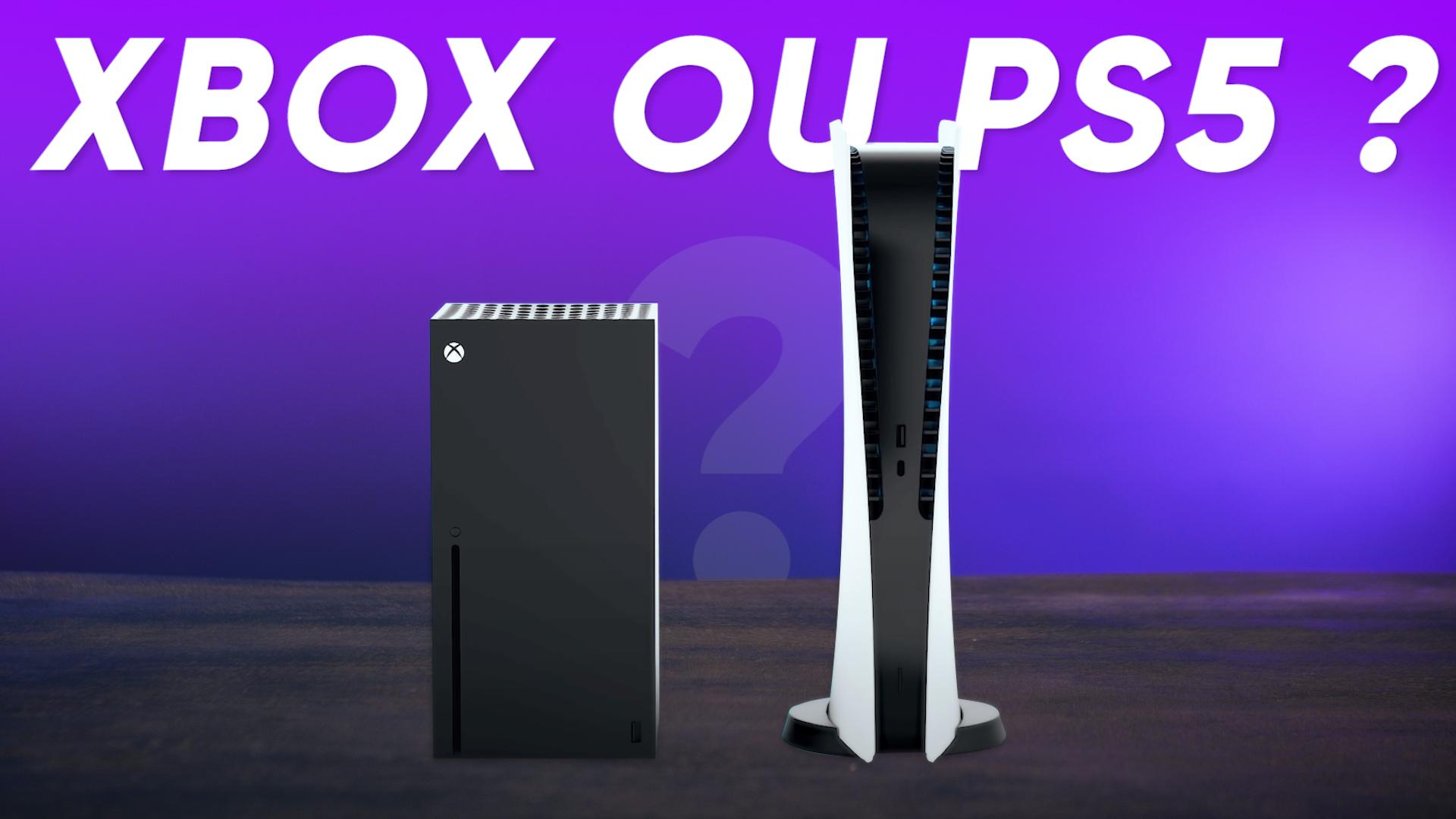 PS5 vs Xbox Series X vs Xbox Series S : quelle console choisir ?