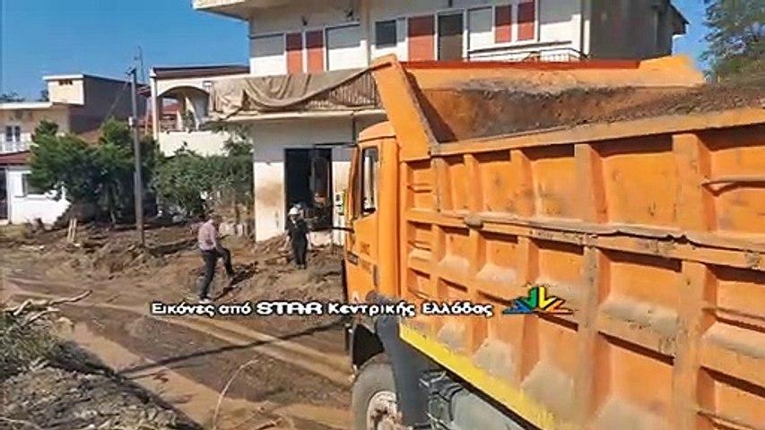 """Ξεκίνησε ο καθαρισμό στις περιοχές που επλήγησαν απο τον """"Ιανό """""""
