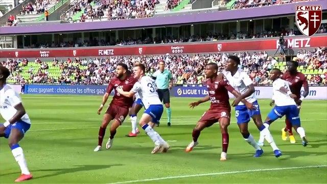 Metz - Reims, Ibrahima Niane Grenat du match !