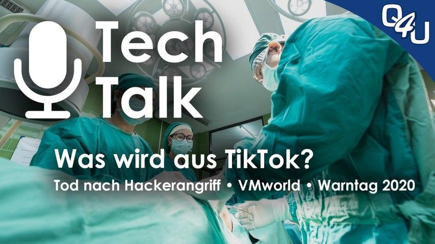 TikTok, Tod nach Hackerangriff, VMWorld, Warntag 2020, Routerfreiheit | QSO4YOU.com Tech Talk #30
