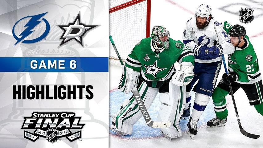 NHL Highlights | Lightning @ Stars 9/28/2020
