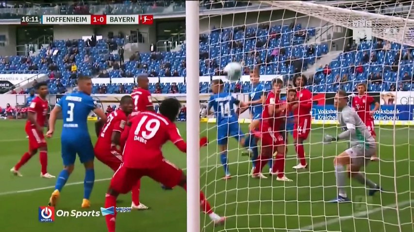 Highlights TSG Hoffenheim - Bayern Munich - Hùm Xám hóa thành 'nhược tiểu' - Vòng 2 Bundesliga 20-21