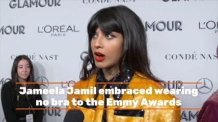 Jameela Jamil Goes Braless