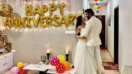 Charu Asopa और Rajeev sen ने Celebrate की 1st Anniversary, Romantic अंदाज में आए नजर | Boldsky