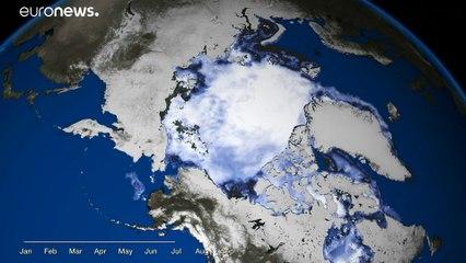 El Ártico cae a su segundo nivel más bajo en 40 años