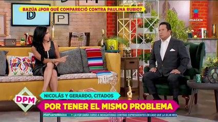 ¿Colate pelea con Paulina Rubio por un bien económico personal?
