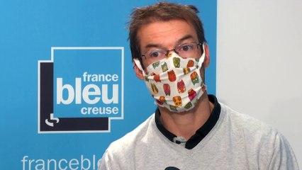Luc Marquès secrétaire départemental du SNUipp en Creuse