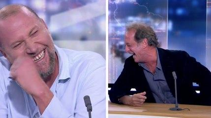 Le fou-rire génial de François Damiens et Vincent Lindon au RTL Info