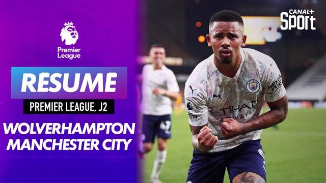 Le résumé de Wolverhampton - Manchester City en VO