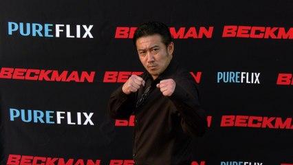 "Nobuaki Shimamoto ""Beckman"" Movie Premiere Red Carpet"