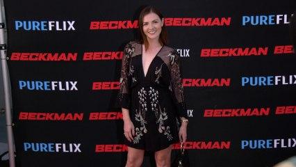 "Chantelle Albers ""Beckman"" Movie Premiere Red Carpet Fashion"