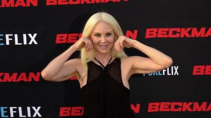"Donna Spangler ""Beckman"" Movie Premiere Red Carpet Fashion"