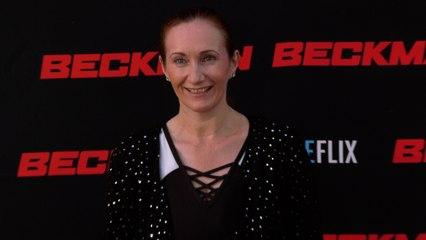 "Grace Delaney ""Beckman"" Movie Premiere Red Carpet Fashion"