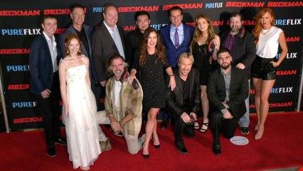"David A.R. White, Jeff Fahey ""Beckman"" Red Carpet Premiere Cast Arrivals"