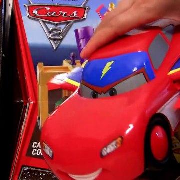 Cars Toon Lightning Hawk McQueen Airplane Aerocar Interactive Flying Buddy Disney Pixar car-toys
