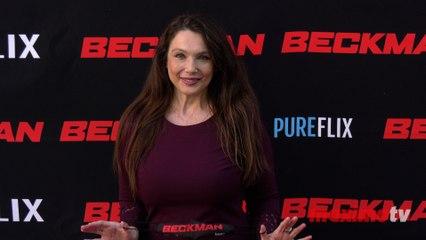 """Nancy O'Brien """"Beckman"""" Movie Premiere Red Carpet Fashion"""