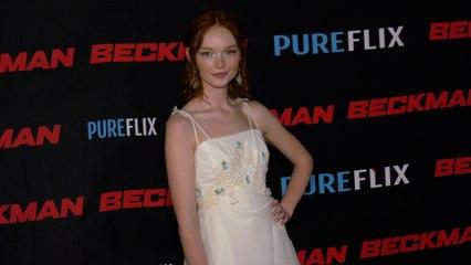 "Samantha Cormier ""Beckman"" Movie Premiere Red Carpet Fashion"