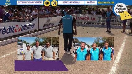 8e PUCCINELLI vs T MOLINAS : Mondial la Marseillaise à pétanque 2020