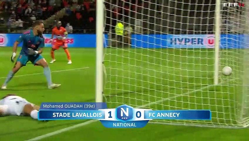 J6 I Stade Lavallois - FC Annecy (2-1)
