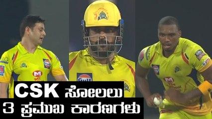 IPL 2020 RR vs CSK | Dhoni ನಾಯಕತ್ವದಲ್ಲಿ ತಪ್ಪಾದ ವಿಚಾರಗಳೇನು , ಸೋಲಿನ ಕಾರಣವೇನು | Oneindia Kannada